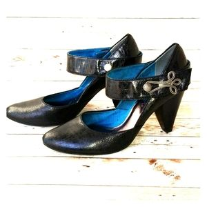 NINA Dolls Vintage Look Maryjane Heels Size 6.5